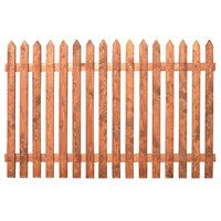 Zest 4 Leisure Old Picket Fence Panel 6 x 2ft