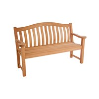Alexander Rose Mahogany Turnberry Bench - 5ft (614)