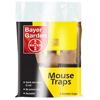 Bayer Garden Professional Mouse Traps - Twin Pack