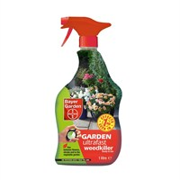 Bayer Garden Super Strength Weedkiller Ready to Use - 1L Spray Bottle