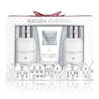 Baylis & Harding Christmas Jojoba, Silk & Almond Oil Trio Gift Set (BM17JOSML3PC)