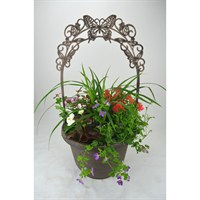Butterfly Plastic Planter