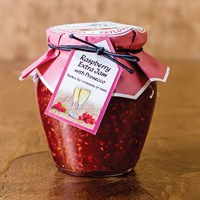 Cottage Delight Christmas Foods - Raspberry & PROsecco Jam (651180)