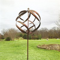 Creekwood Sphere - Copper Wind Spinner (HH94)