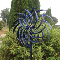 Creekwood Windswept Blue Wind Spinner (HH778)