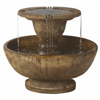 DIRECT DISPATCH Henri Studio Alfresco Fountain Water Feature With Light (H5701F2LRL)