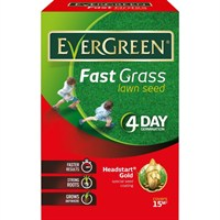Evergreen Fast grass Lawn Seed - 15m² (118014)