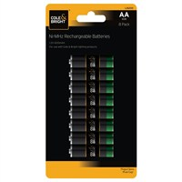 Gardman AA Rechargeable Batteries - 8 Pack (L26200)