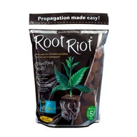 Growth Technology Root Riot Propagation Plant Cubes - Bag of 50 (PRRR50)