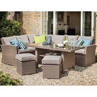 Hartman Essential Rectangular Casual Dining Set with Cover (633058)