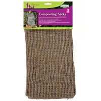 Haxnicks Composting Sacks X3 (Jute130101)