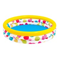 Intex 5.5ft Wild Geometry Paddling Pool - Medium (58449NP)