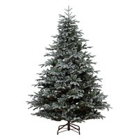 Kaemingk 210cm (7ft) Frosted Mountain Spruce Artificial Christmas Tree (9689692)