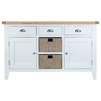 Kettle Interior Wentworth Large Sideboard White (TT-LS-W)