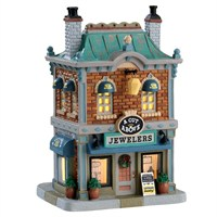 Lemax Christmas Village - A Cut Above Jewelers Building - Battery Operated LED (75236)