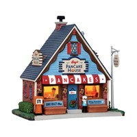 Lemax Christmas Village - Amy's Pancake House Building - Battery Operated LED (45743)