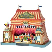 Lemax Christmas Village - Berry Brothers Big Top Carnival Ride with 4.5v Adapter (55918)