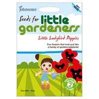 Little Gardeners Little Ladybird Poppies Seeds (19342)