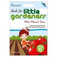 Little Gardeners Mini Munch Toms Seeds (19348)