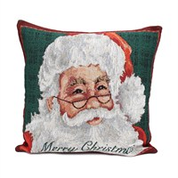Peggy Wilkins Father Christmas Complete Christmas Cushion - 45 x 45cm