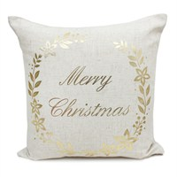 Peggy Wilkins Glad Tidings Complete Christmas Cushion - 45 x 45cm
