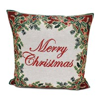 Peggy Wilkins Good Cheer Complete Christmas Cushion - 46 x 46cm