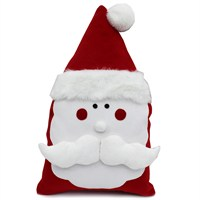 Peggy Wilkins Kris Kringle Complete Christmas Cushion - 30 x 50cm