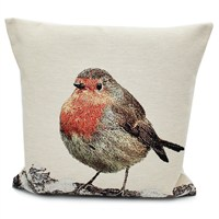 Peggy Wilkins Robin Complete Christmas Cushion - 45 x 45cm