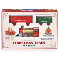 Premier 13 Piece Battery Operated Christmas Train Set Sound & Headlight (AC171264)