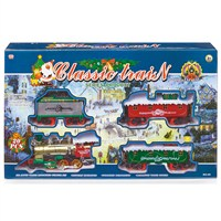 Premier 20 Piece Battery Operated Christmas Train Set with Headlight & Sound (AC121429)