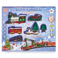 Premier 20 Piece Battery Operated Christmas Train Set with Music (AC131209)