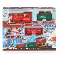 Premier 22 Piece Battery Operated Christmas Train Set With Sound & Light (AC171261)