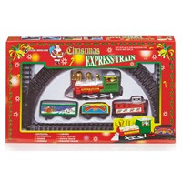 Premier 9 Piece Battery Operated Christmas Train Set (AC121432)