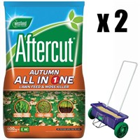 Promotion! Buy 2 Aftercut Autumn All in One Bag 400m2 & Get A Free Spreader - ONLINE EXCLUSIVE