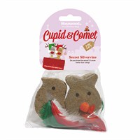 Rosewood Cat Toy - Festive Silvervine Christmas Characters 2 Pack (38788)