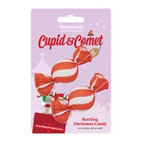 Rosewood Cat Toy - Rattling Christmas Candy 2 Pack (90841)