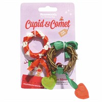 Rosewood Cat Toy - Silvervine Christmas Wreaths 2 Pack (38787)