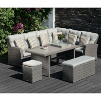 Lifestyle Garden Saigon Corner Casual Dining Set