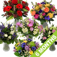 Longacres Fresh Flowers - 6 Month's Subscription