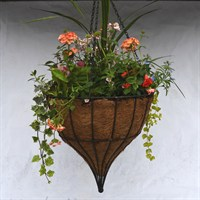 Tear Drop Hanging Basket