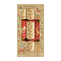 Tom Smith 6 x 12in Kraft Cube Christmas Crackers (XAGTS2104)