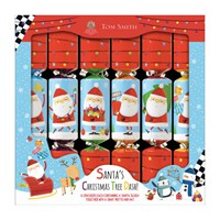 Tom Smith 6 x 12in Novelty Santa Race Game Christmas Crackers (XAGTS4501)