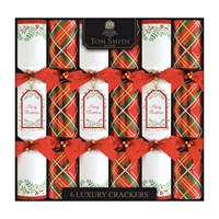 Tom Smith 6 x 14in Traditional Luxury Christmas Crackers (XAGTS2701)