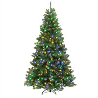 Tree Classics 2.1m (7ft) Green Arctic Spruce Dual Color LED Artificial Christmas Tree (84-866-385LX)