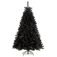 Tree Classics 2.1m (7ft) Black Arctic Spruce Artificial Christmas Tree (84-754-358)
