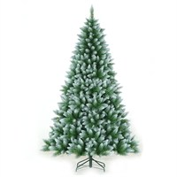 Tree Classics 2.4m (8ft) Green Frosted Allison Spruce Artificial Christmas Tree (96-1104-421F)