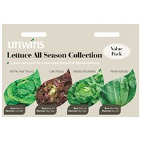 Unwins Seeds Lettuce All Season Collection (30310015)
