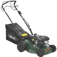Webb R41HP Push Steel Deck Petrol Rotary Mower (WER41HP)