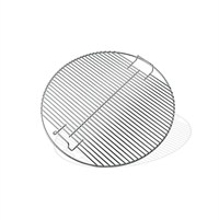 Weber Chrome Plated 57cm Hinged Cooking Grate (8423) Barbecue Accessories