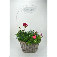 Wicker Welcome Basket - Large